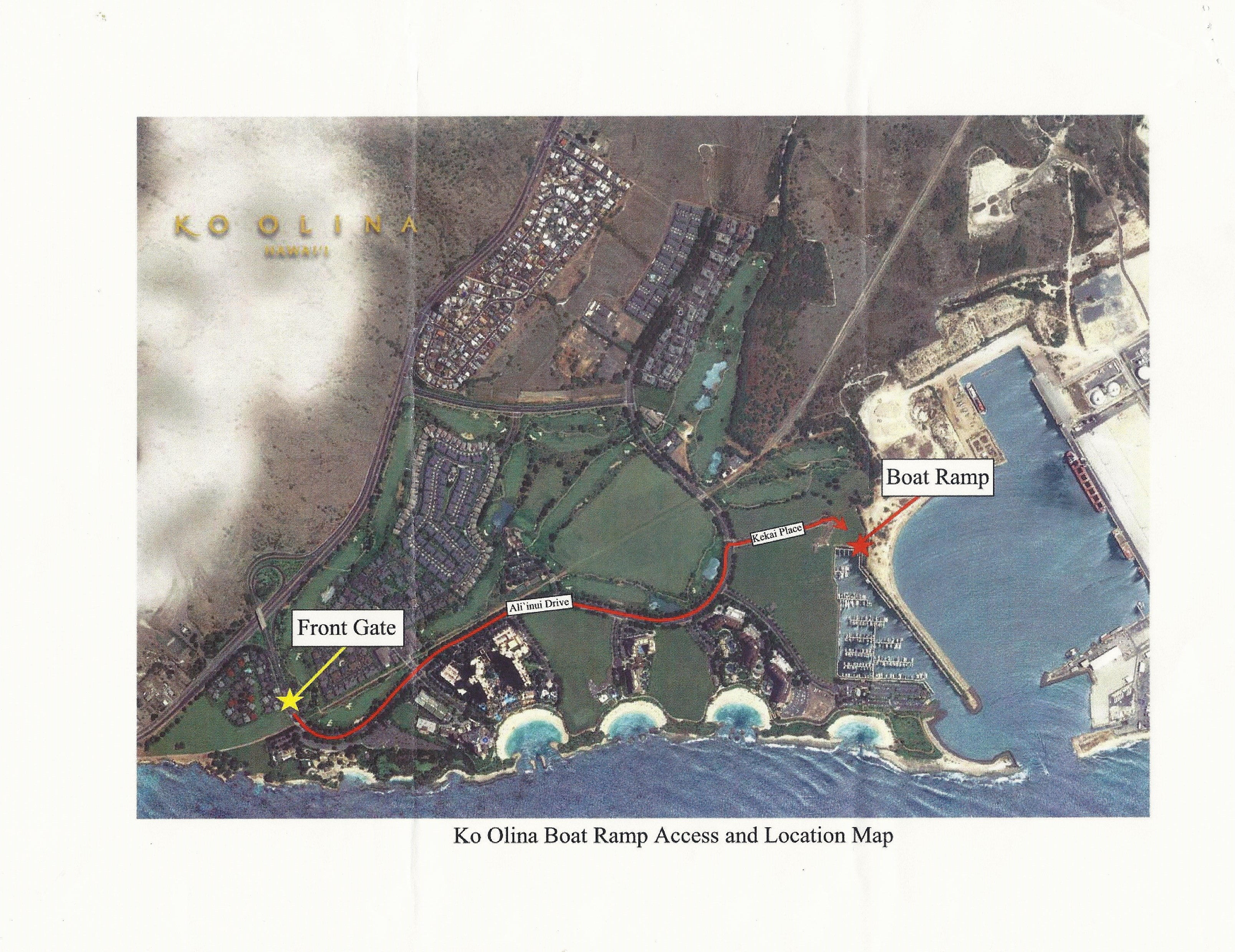 THE LATEST ON THE KO OLINA SMALL BOAT RAMP